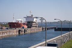 Canale di Kiel fotografie stock libere da diritti