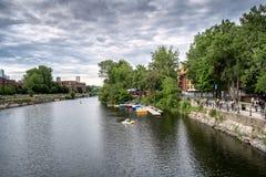 Canale di Lachine fotografia stock