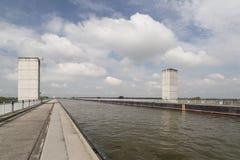 Canale di Mittelland Immagine Stock