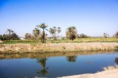 Canale di Nilo immagini stock libere da diritti