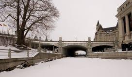 Canale di Ottawa Fotografia Stock Libera da Diritti