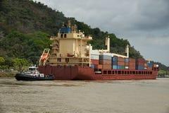 Canale di Panama Immagine Stock