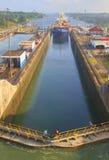 Canale di Panama Fotografia Stock Libera da Diritti