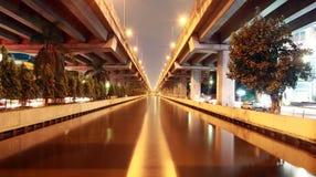 Canale di Prapa in Tailandia Fotografia Stock