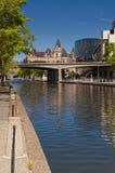 Canale di Rideau immagine stock