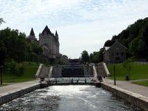 Canale di rideau di Ottaya fotografia stock libera da diritti