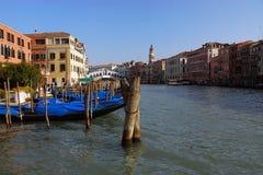 Canale di Venezia immagine stock