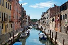 Canale di Venezia Fotografie Stock
