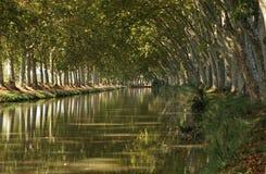 Canale du Midi fotografie stock libere da diritti