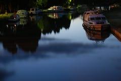 Canale du Midi, Francia Fotografie Stock