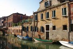Canale gran a Venezia Immagini Stock