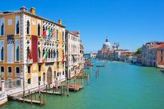Canale gran a Venezia, Italia Fotografie Stock