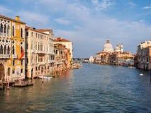 Canale gran a Venezia, Italia Fotografie Stock Libere da Diritti