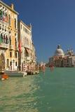 Canale gran (Venezia, l'Italia) immagini stock