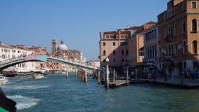 Canale grand à Venise images stock