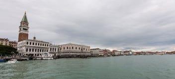 Canale Grande στο SAN Marco Στοκ φωτογραφίες με δικαίωμα ελεύθερης χρήσης