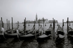 Canale Grande. Sight of Canale Grande in Venice stock photo