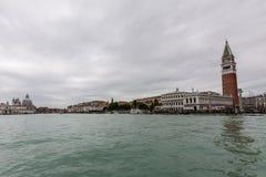 Canale grande en San Marco Imagen de archivo libre de regalías
