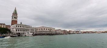 Canale grande en San Marco Fotos de archivo libres de regalías