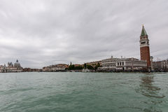 Canale Grande at San Marco Royalty Free Stock Image