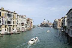 Canale grande a Venezia Fotografia Stock