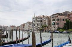 Canale grande a Venezia Immagini Stock Libere da Diritti