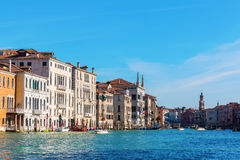 Canale Grande in Venice, Italy. Picture of the Canale Grande in Venice, Italy royalty free stock image