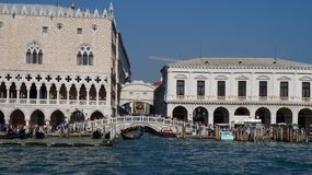 Canale Grande in Venice. Palace Ducale Venice stock photos