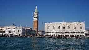 Canale grandioso em Veneza foto de stock royalty free