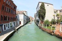 Canale idrico di Venezia Immagine Stock