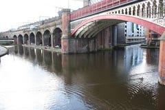 Canale marittimo di Manchester Fotografie Stock