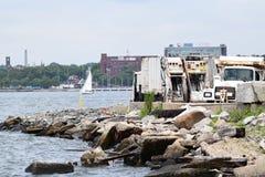 Canale navigabile di New York fotografia stock libera da diritti