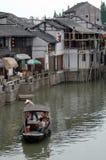 Canale navigabile di Suzhou Fotografia Stock