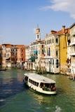 Canale navigabile di Venezia Immagine Stock