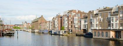 Canale olandese Fotografia Stock Libera da Diritti