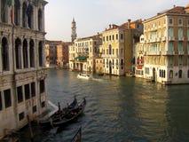 Canale piacevole a Venezia (Venezia, Vinegia, Venexia, Venetiae) Fotografie Stock Libere da Diritti