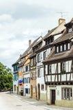 Canale a poca Venezia a Colmar, Francia Fotografie Stock Libere da Diritti