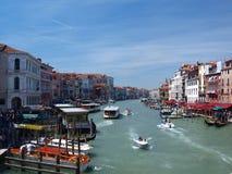 canale stora italy venice Royaltyfria Foton