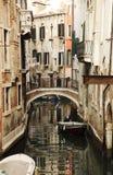 Canale a Venezia Immagini Stock
