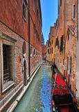 Canale a Venezia Fotografie Stock