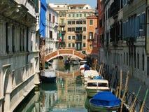 Canale a Venezia Fotografia Stock Libera da Diritti