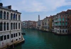 Canale Venezia grande Fotografia Stock
