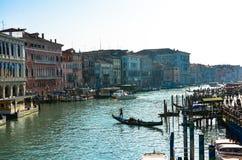 Canale Venezia (Venezia) di Gran Fotografia Stock Libera da Diritti