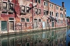 Canale veneziano Immagine Stock