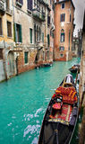 Canale veneziano immagini stock