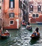 Canale veneziano Fotografie Stock