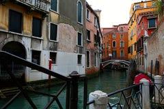 Canale veneziano Immagini Stock Libere da Diritti
