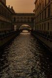 Canales al capital septentrional Fotos de archivo libres de regalías