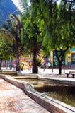 Canales Avenida Jiménez Bogotá Colombia Fotos de archivo libres de regalías