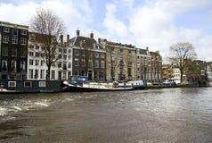 Canales de Amsterdam Foto de archivo libre de regalías